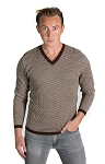 36801 - Herringbone Sweater Brown