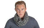 36603 - Knitted Men's Infinity Scarf