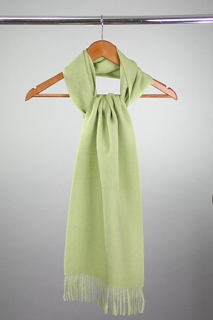 Brushed Lime Scarf