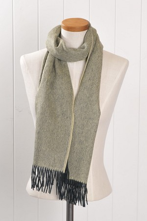 Brushed  Light Yellow Scarf