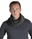 36601 - Knitted Men's Infinity Scarf