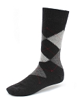 Black - Argyle Dress Socks